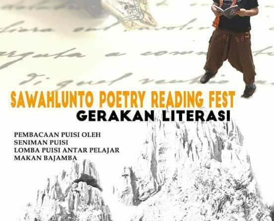 Sawahlunto Poetry Reading Fest 2017