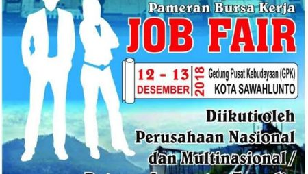 Job Fair di Kota Sawahlunto