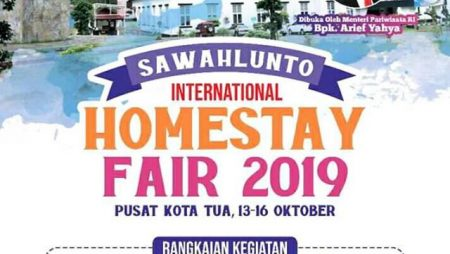 Sawahlunto International Homestay Fair 2019